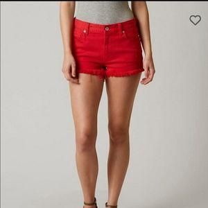 Lucky Brand High Rise Shortie Shorts